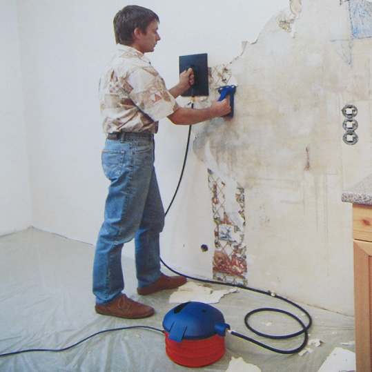 wie bekomme ich die ddr tapete von der wand handwerk renovierung. Black Bedroom Furniture Sets. Home Design Ideas
