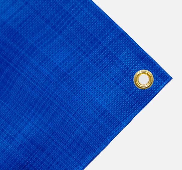 Gewebeplane Bild 2 von Gewebeplanen 200g blau