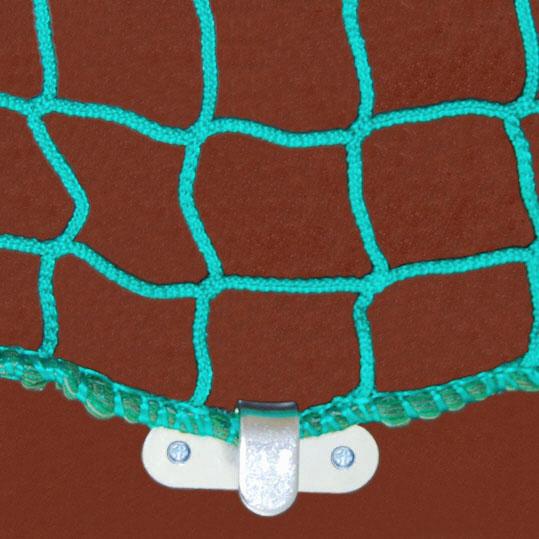 Anhängernetz Bild mit Seil und Haken Ladungssicherung