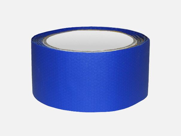 Planenfix Reparaturklebeband Bild für PVC Abdeckplanen blau