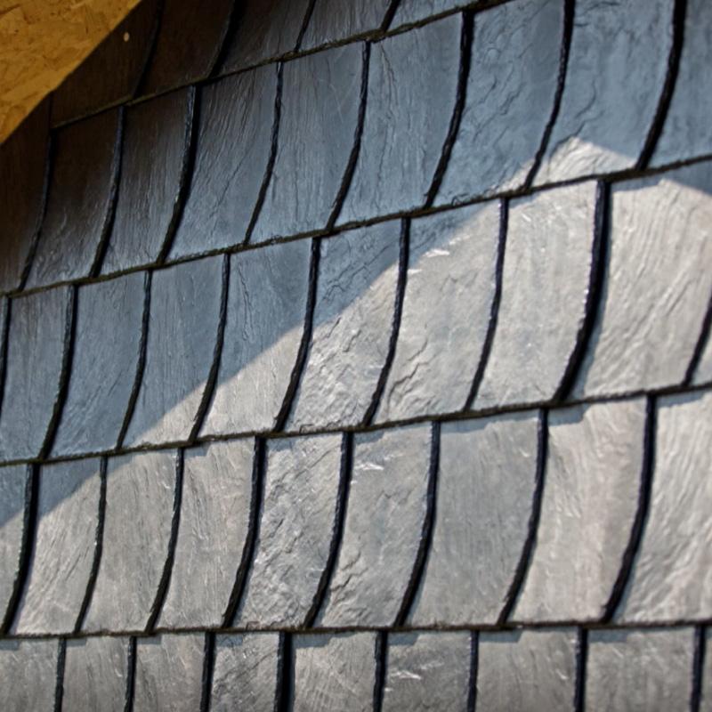 Stabuflex Bogenschnitt Dachziegel Ziegel für Dach und Wand