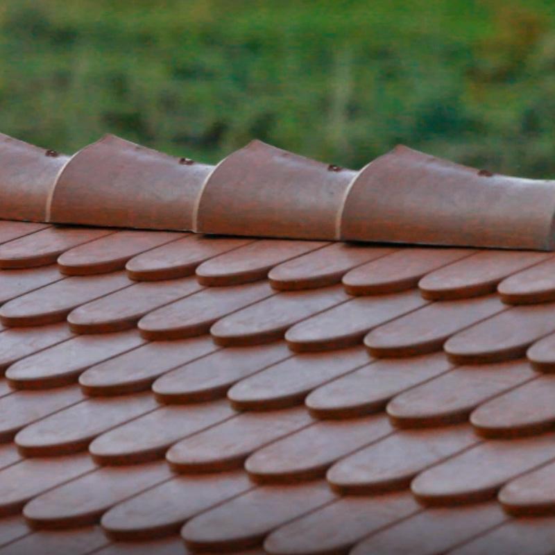 Stabuflex Dachfirst Bild Firstziegel für Dach