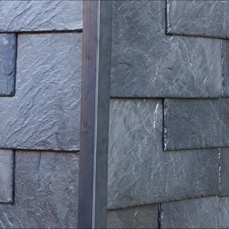Rechteckplatte für Dacheindeckung und Wandverkleidung