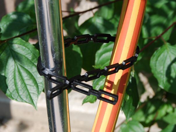 Pflanzenanbinder schwarz Pflanzenanbinder Staudenhalter